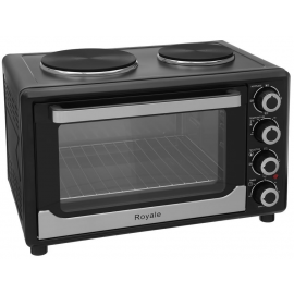 ROYALE TT30 MINI ELECTRIC TABLE TOP COOKER WITH 2 HOTPLATES