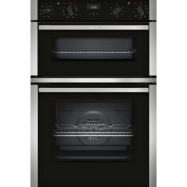 Neff U1ACE2HN0B Built In Double Oven Stainless Steel
