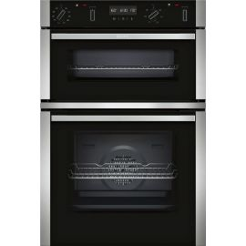 Neff U2ACM7HN0B Built In Double Electric Oven With Pyrolytic Cleaning