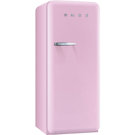 Smeg 50's Retro Fridge With Ice Compartment In Pink Right Hand Hinged FAB28QRO1