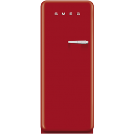 Smeg 50's Retro Style freezer Left Hand Hinged In Red