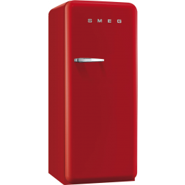 Smeg 50's Retro Style freezer Right Hand Hinged In Red