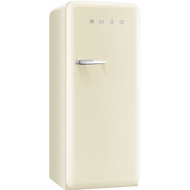 Smeg 50's Retro Style freezer Right Hand Hinged In Cream