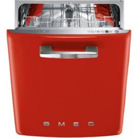 Smeg DI6FABR Integrated Retro Red Dishwasher