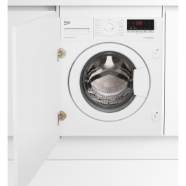 Beko WIY84540F Integrated 8kg 1400 Spin Washing Machine