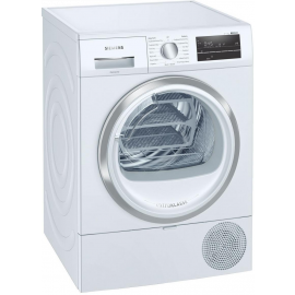 Siemens WT47RT90GB 9kg iQ500 Heat Pump Tumble Dryer - White - A++ Energy Rated