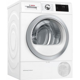 Bosch WTWH7660GB Condenser Tumble Dryer with Heat Pump - White - A++ Energy Rated