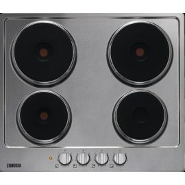 Zanussi ZEE6942FXA Solid Plate Electric Hob Stainless Steel