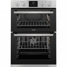 Zanussi ZOD35660XK Built In Double Oven Stainless Steel