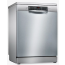 Bosch Serie 4 SMS46II01G Standard Dishwasher - Stainless Steel - E Rated