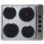 Montpellier SP601X Solid Plate Hob